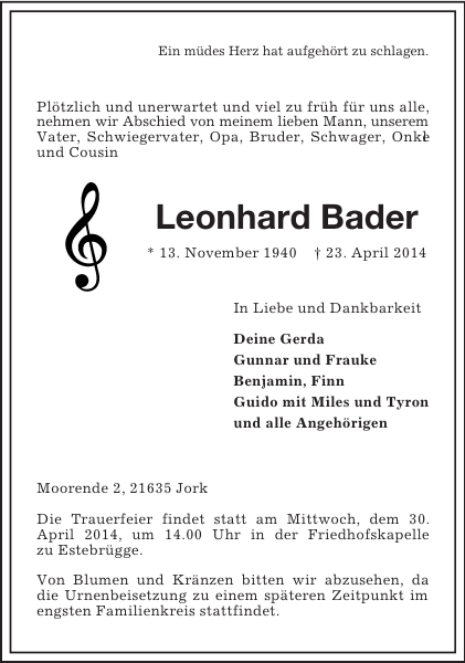Leonhard Bader