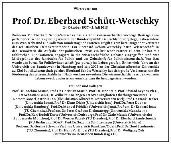 Eberhard Schütt-Wetschky