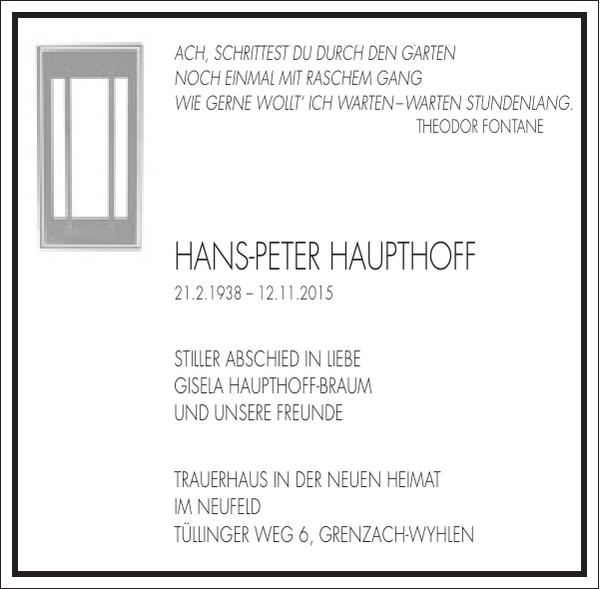 Hans-Peter Haupthoff