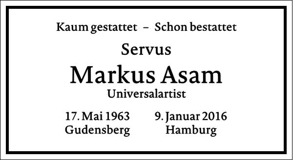 Markus Asam