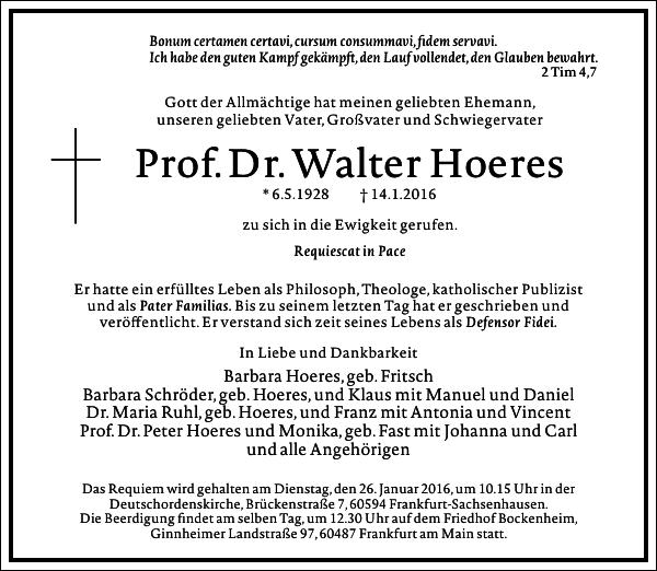 Walter Hoeres