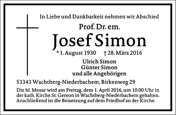 Josef Simon