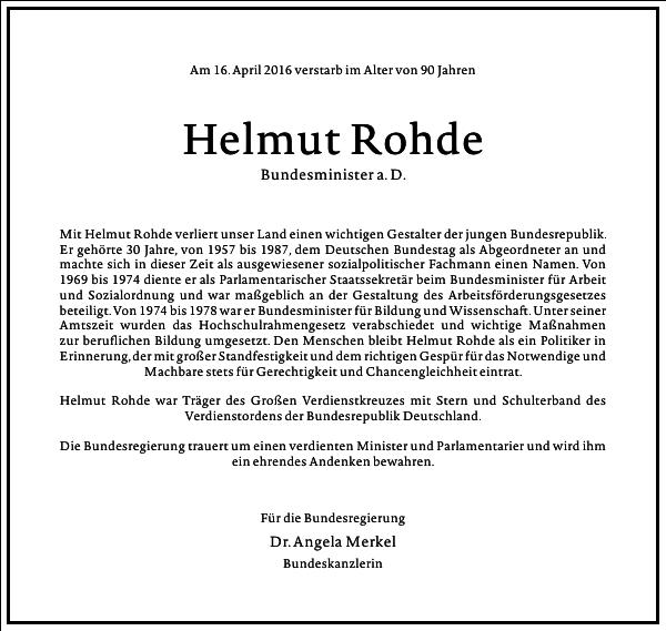 Helmut Rohde