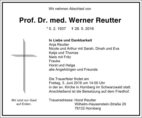 Werner Reutter