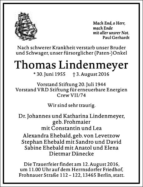 Thomas Lindenmeyer