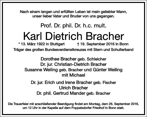 Karl Dietrich Bracher