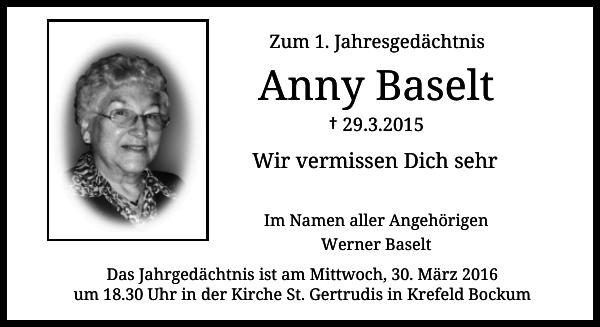 Anny Baselt