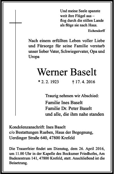 Werner Baselt