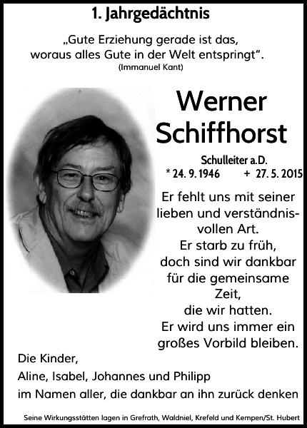 Werner Schiffhorst