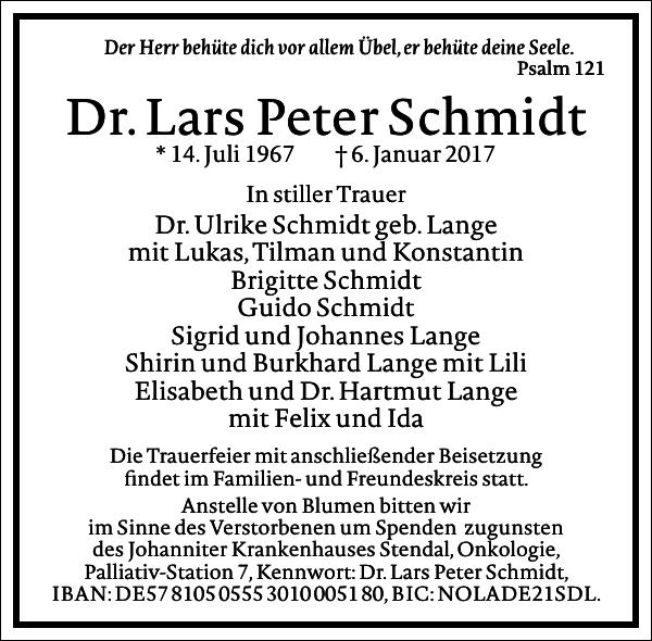 Dr.Lars Peter Schmidt