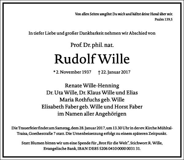 Rudolf Wille