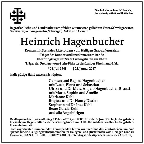 Heinrich Hagenbucher