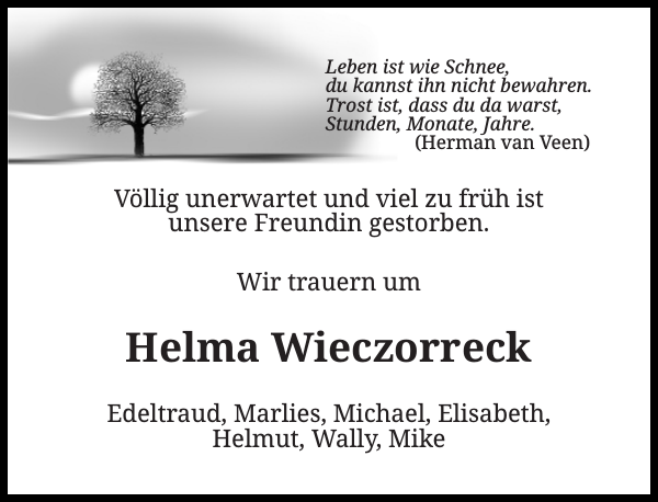 Helma Wieczorreck