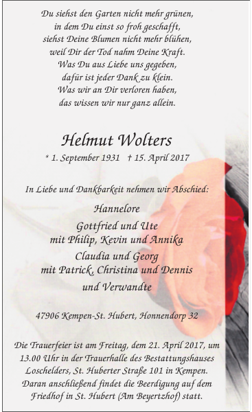 Helmut Wolters