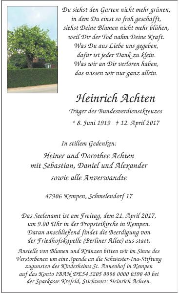 Heinrich Achten