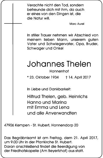 Johannes Thelen