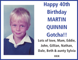 MARTIN QUINNIN : Birthday