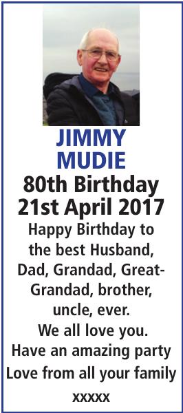 JIMMY MUDIE