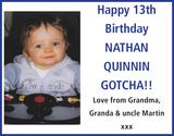 NATHAN QUINNIN : Birthday