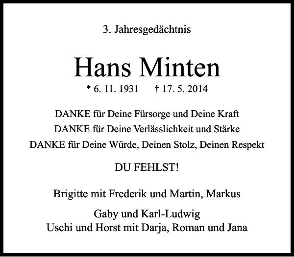Hans Minten