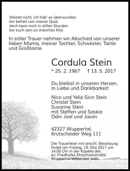 Cordula Stein