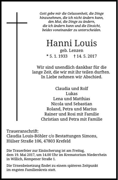 Hanni Louis