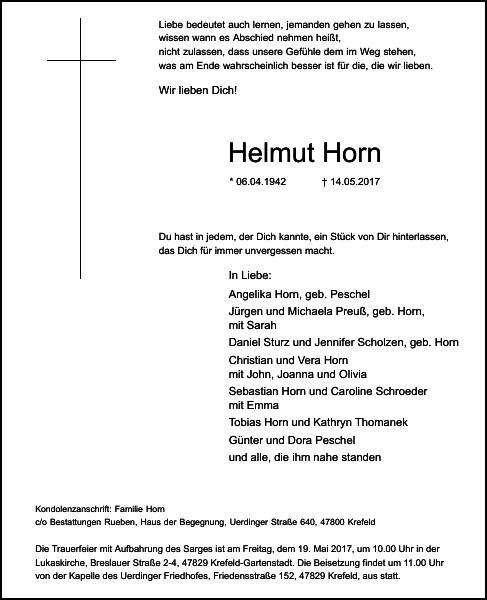 Helmut Horn
