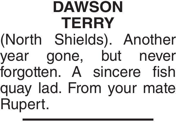 DAWSON TERRY