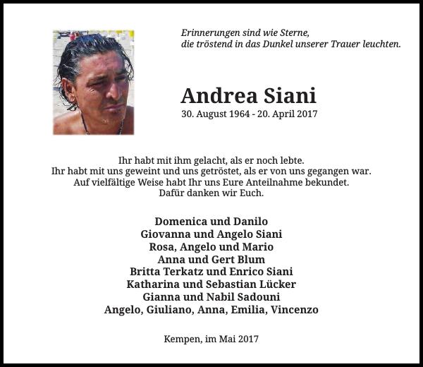 Andrea Siani