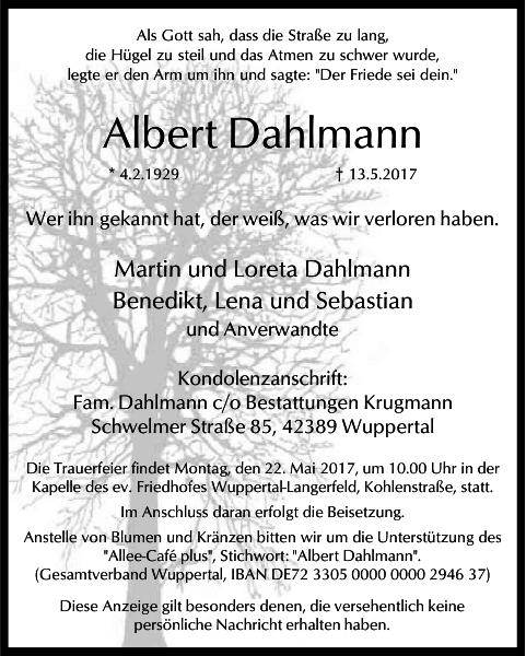 Albert Dahlmann