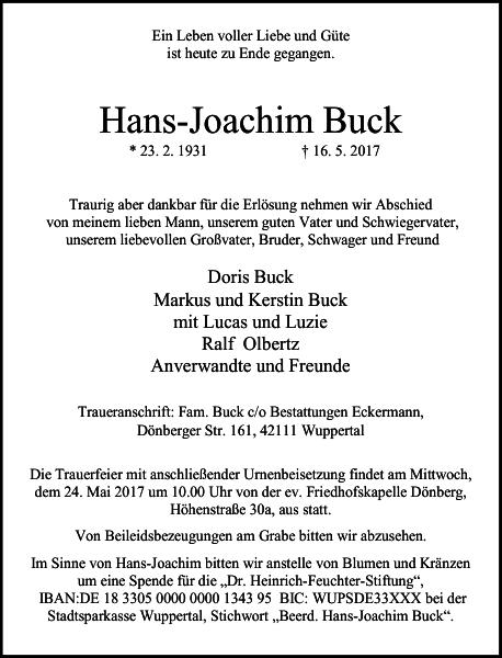 Hans-Joachim Buck