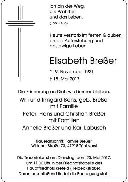 Elisabeth Breßer