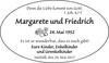 Margarete und Friedrich