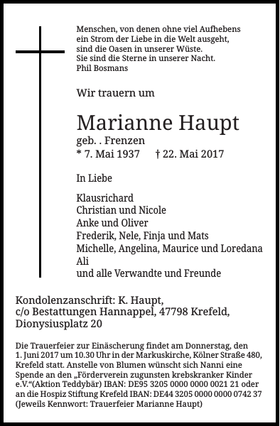 Marianne Haupt