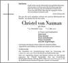 Christel von Nauman