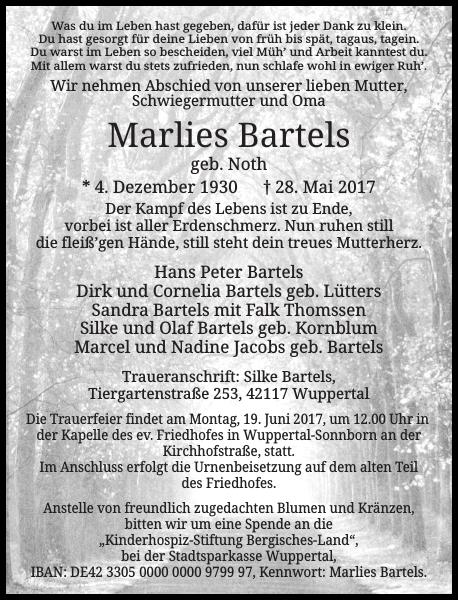 Marlies Bartels