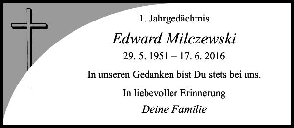 Edward Milczewski