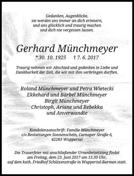Gerhard Münchmeyer