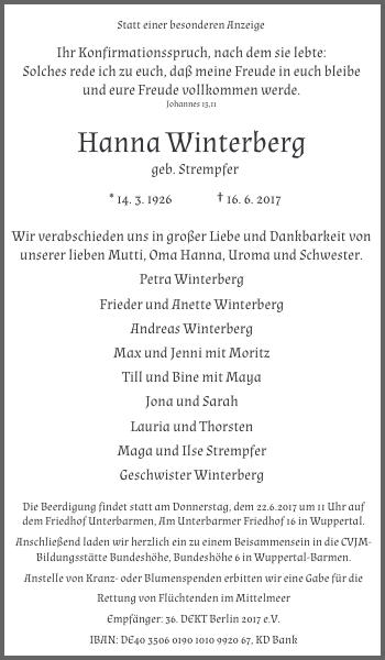 Hanna Winterberg