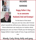 WILSHERE RAYMOND : Thanks