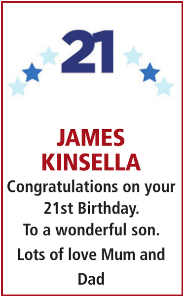 JAMES KINSELLA
