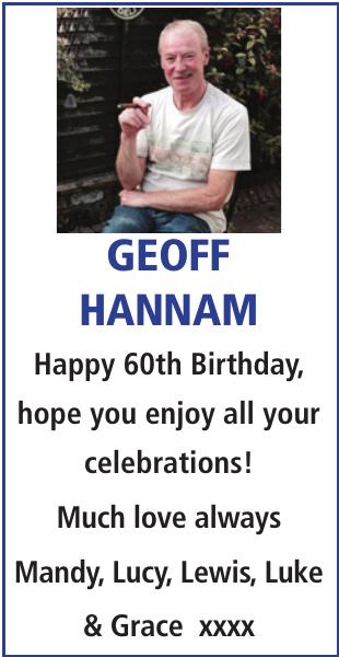 GEOFF HANNAM