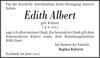 Edith Albert