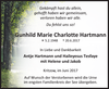 Gunhild Marie Charlotte Hartmann