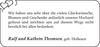 Ralf und Kathrin Thomsen
