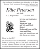 Käte Petersen