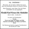 Khalid Karl Kraus Abdullah