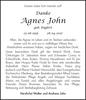 Agnes John