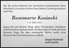 Rosemarie Kosinski