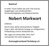 Nobert Markwart